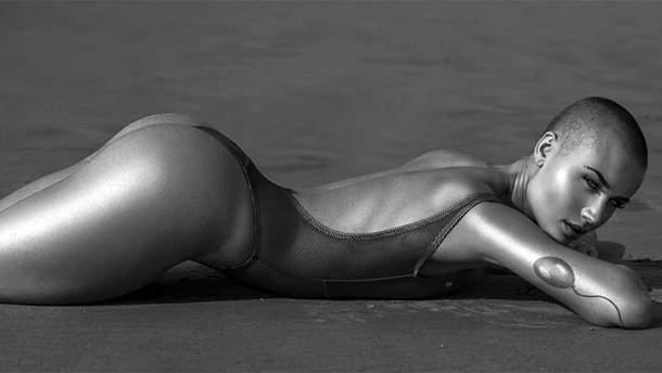 Модель без волосся знялась для нового випуску Playboy