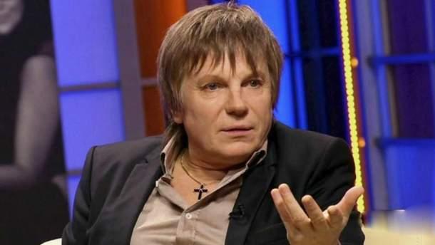Известный российский певец Виктор Салтыков