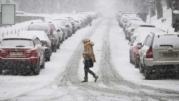 25 грудня в Україні погіршиться погода