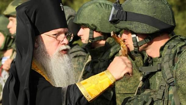 Священики УПЦ МП допомагали бойовикам на початку окупації Донбасу