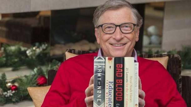 5 книг 2018 року від Білла Гейтса