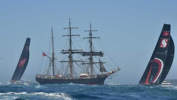 У Сіднеї стартувала легендарна яхтова гонка