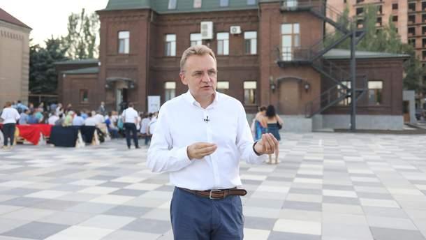 """Андрей Садовый раскрыл некоторые подробности финансирования его партии """"Самопомич"""""""