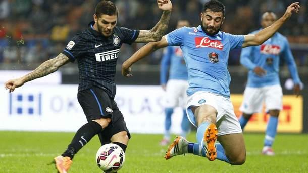 Интер – Наполи видео гола и обзор матча