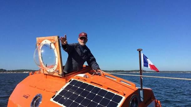 """71- річний француз відправився через Атлантику у бочці, бо він мав зробити """"щось неймовірне"""""""