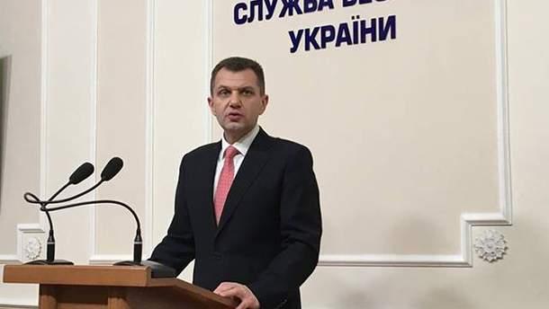 Представник контррозвідки СБУ Володимир Настюк