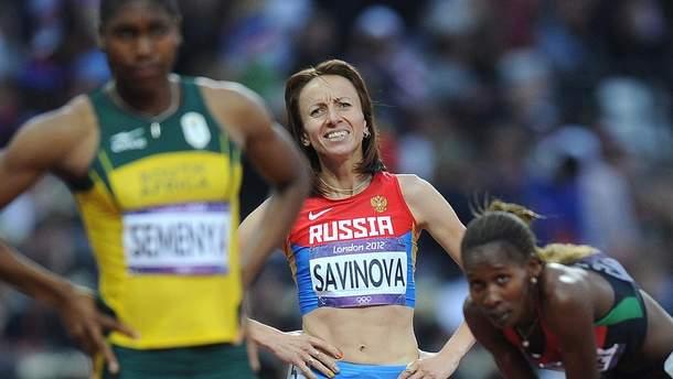 Мария Савинова должна вернуть золотую медаль Олимпиады-2012