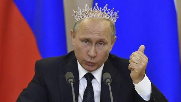 """Путина поставят """"царем"""""""