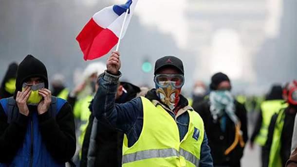 """Протести """"жовтих жилетів"""""""