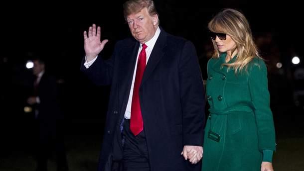 Дональд и Меланія Трамп