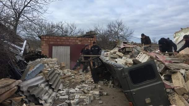 На Херсонщине в частном доме прогремел взрыв