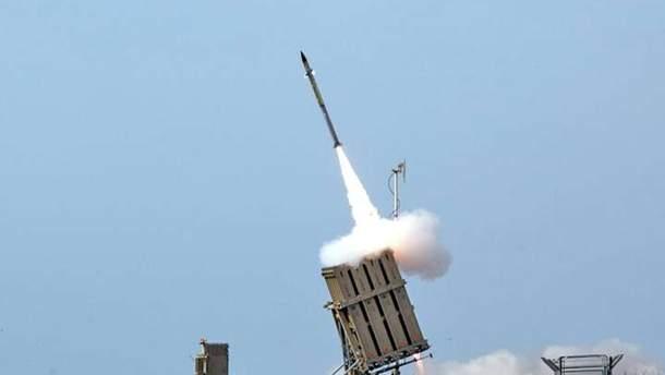 Со стороны Сектора Газы зафиксировано пуск ракеты