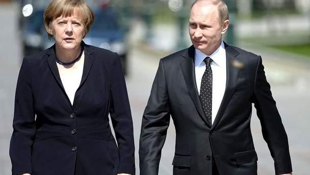 Меркель і Путін обговорили ситуацію в Азовському морі