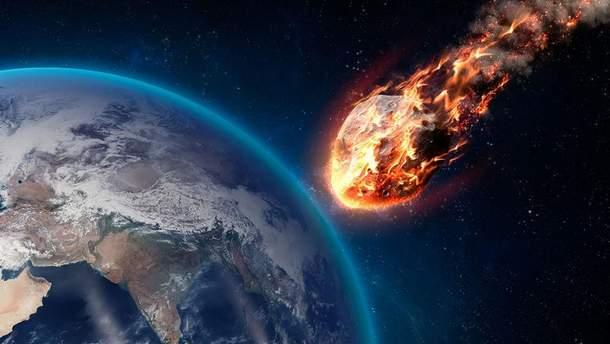 В Карпатах упал метеорит