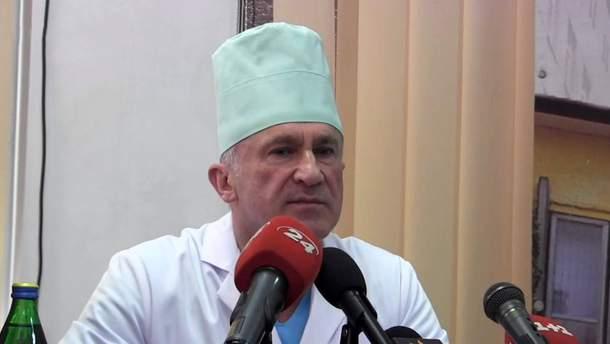 Главный хирург Военно-медицинского клинического центра западного региона Иван Богдан