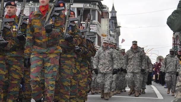 Военные Бельгии