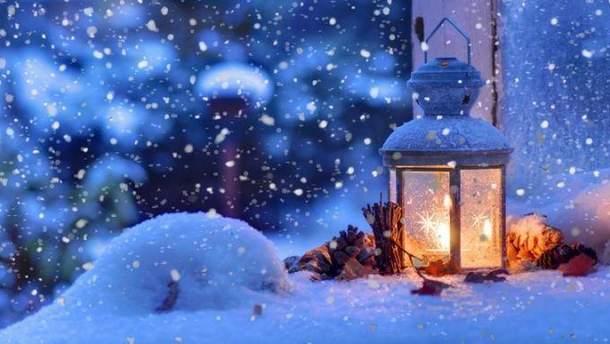 В каких областях на Новый год будет падать снег