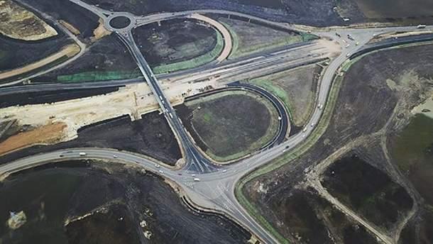 """Окупанти похвалилися відкриттям нової ділянки автотраси """"Таврида"""""""