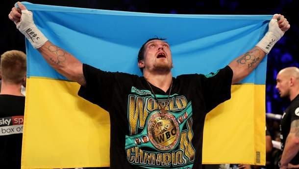 Александр Усик по-украински поздравил соотечественников с Новым годом