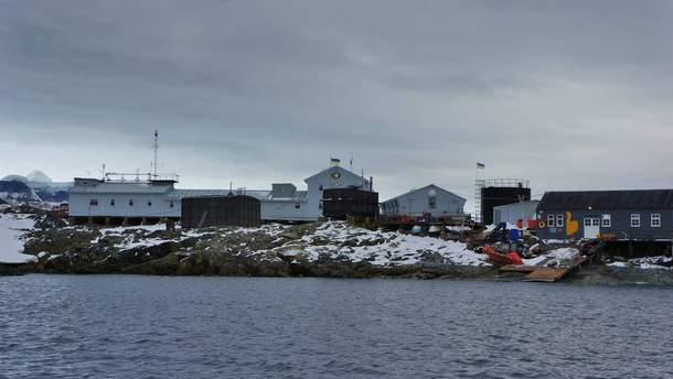 Украинская экспедиция в Антарктиде поздравила соотечественников с Новым годом