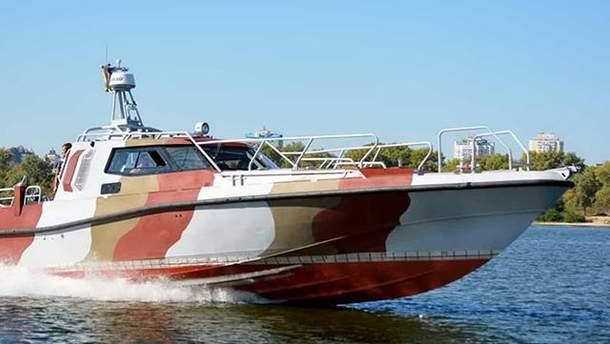 В Мариупольский отряд морской охраны ГНСУ поступил катер проекта UMS-1000