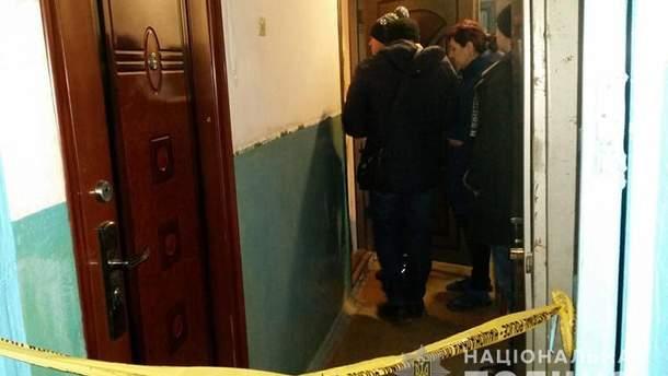 Фото с места взрыва гранаты в Тернополе