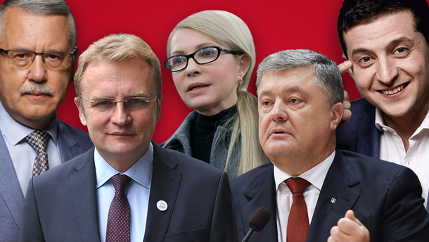 Список кандидатів у Президенти України: хто подав документи у ЦВК