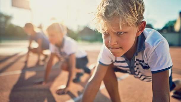 З якого віку дітей потрібно привчати до спорту