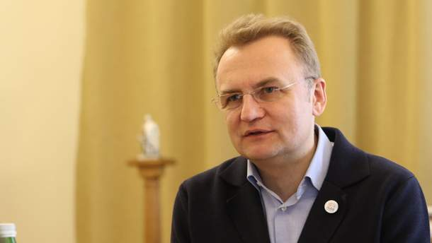 Голова Львова Андрій Садовий