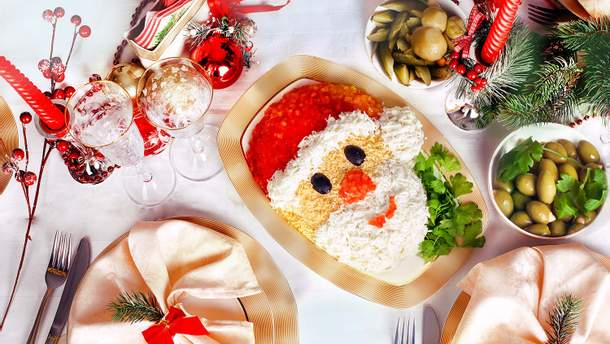 Святкові салати на Різдво 2019: рецепти святкових салатів на Різдво