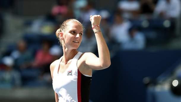 Каролина Плишкова вышла в финал турнира в Брисбене