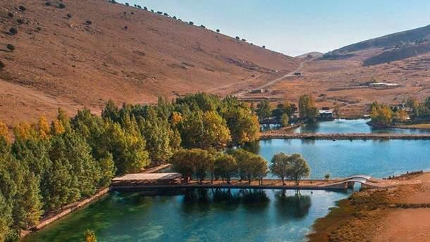 Краса Лівану, що зачаровує