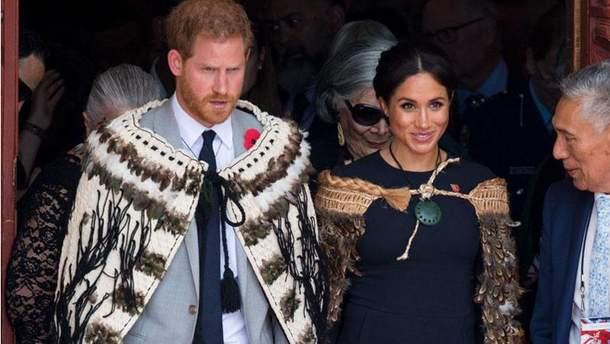 Герцоги Сассекские принц Гарри и Меган Маркл