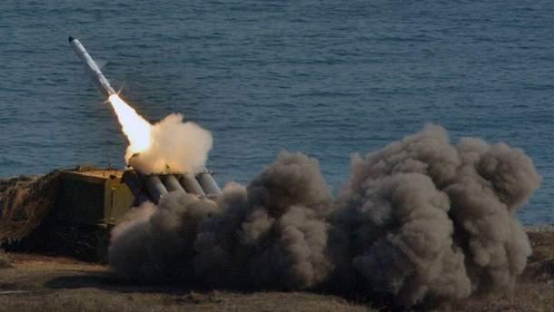 Россия снова провела ракетные учения в Крыму