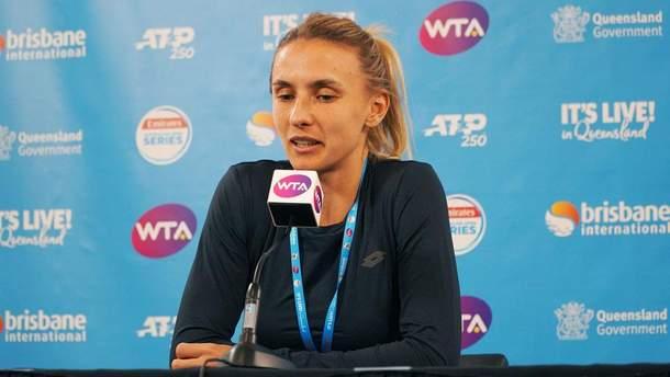 Цуренко прокомментировала поражение в финале