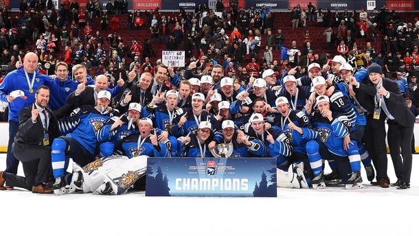 Фінляндія – чемпіон світу з хокею серед молодіжних збірних