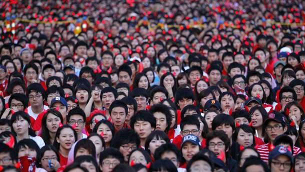 Население Китая в 2016 году составляло более 1,40 миллиарда человек