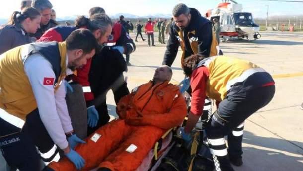 Біля берегів Туреччини затонуло судно з українцями на борту