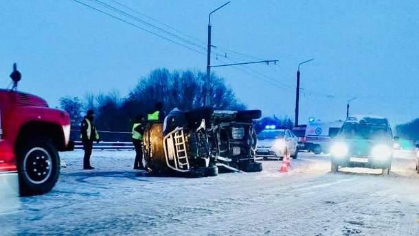 Аварія в Угриневі