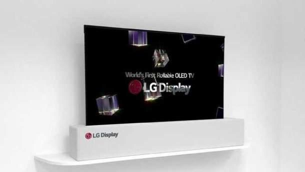 Унікальний телевізор LG OLED TV R