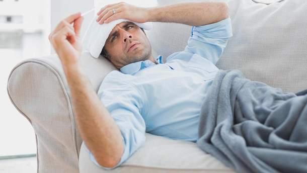 """Чому чоловіки схильні """"перебільшуват"""" симптоми застуди чи грипу"""