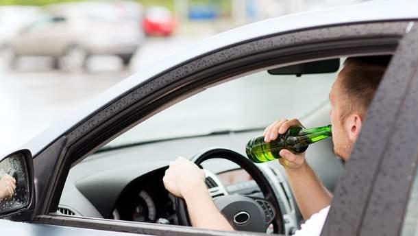 Выпив, не садитесь за руль