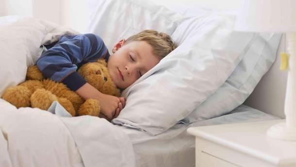Коли потрібно укладати дітей спати