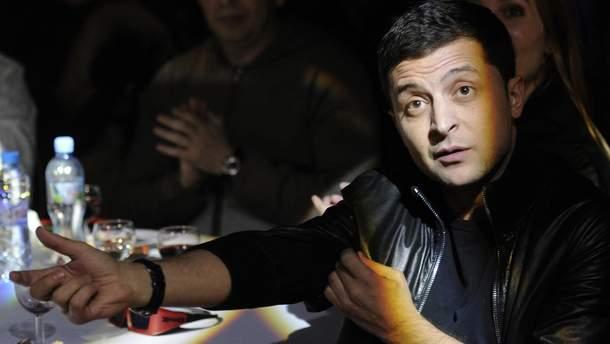 Зеленський зізнався, що поки не має передвиборчої програми