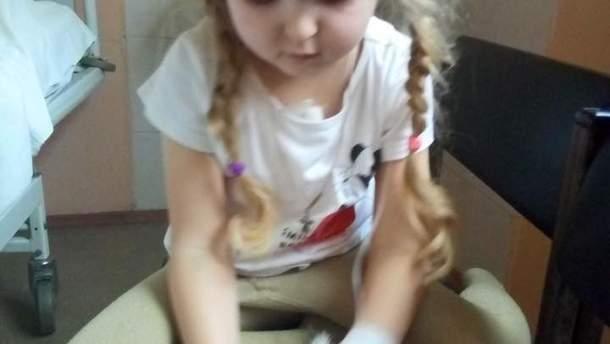 Маленька Єва потребує допомоги