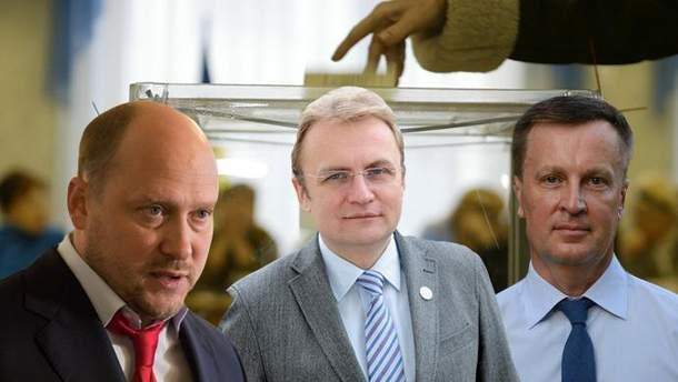 ЦВК зареєструвала кандидатами в президенти Капліна, Садового та Наливайченка