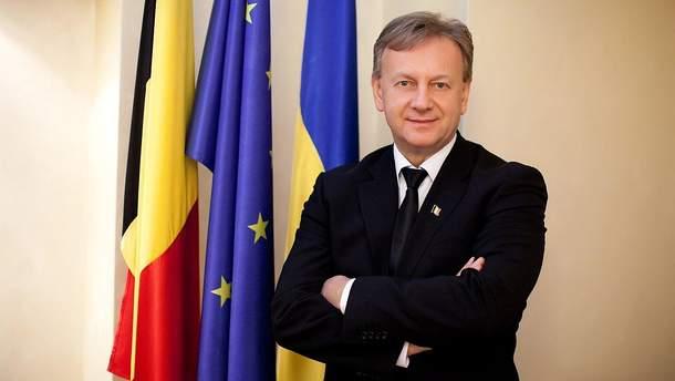 Во Львове избили почетного консула Бельгии Ярослава Гарцулу