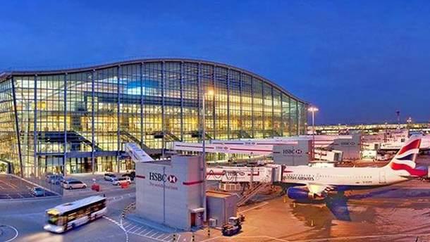 """Аеропорт """"Хітроу"""" частково зупинив роботу через появу безпілотника"""