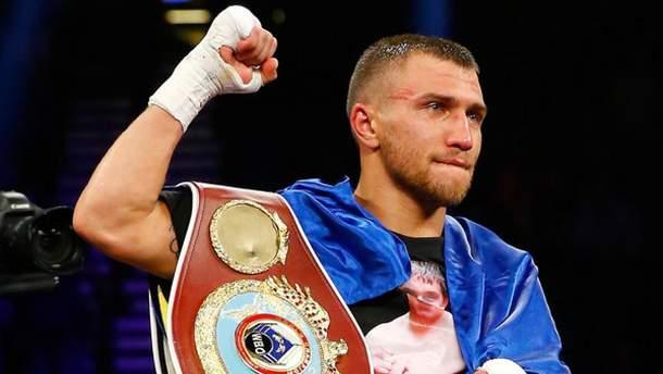 Василь Ломаченко повернеться на ринг у квітні
