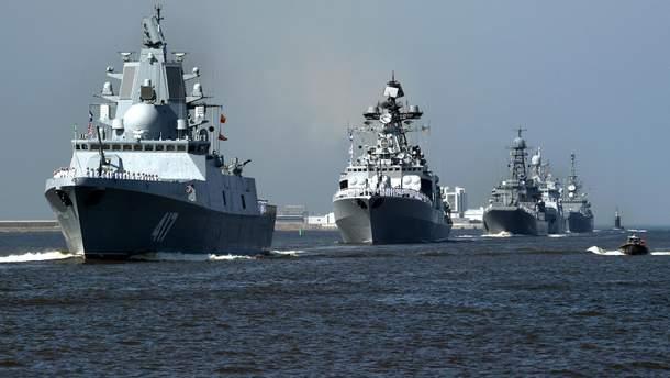 ВМФ Росії проведе військові навчання з ракетними стрільбами в Середземному морі біля Сирії